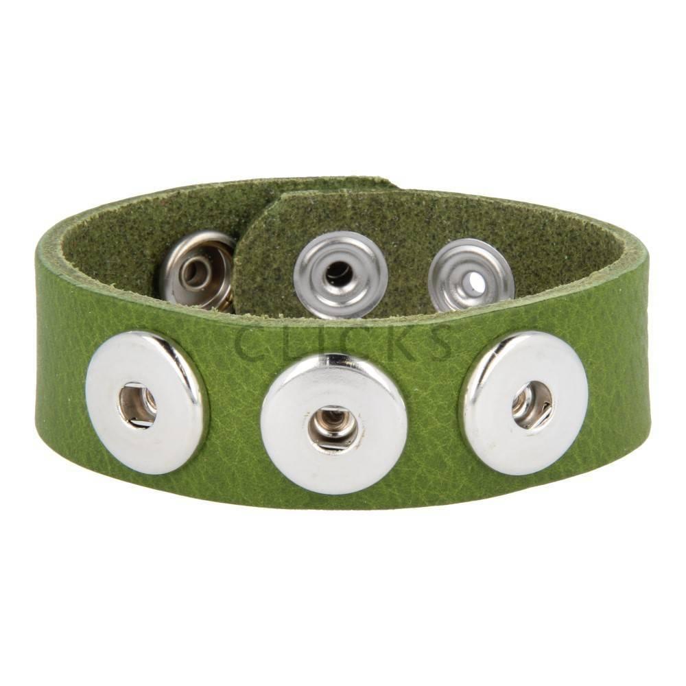 Clicks Armband Clicks 013 Verde (1004L23)
