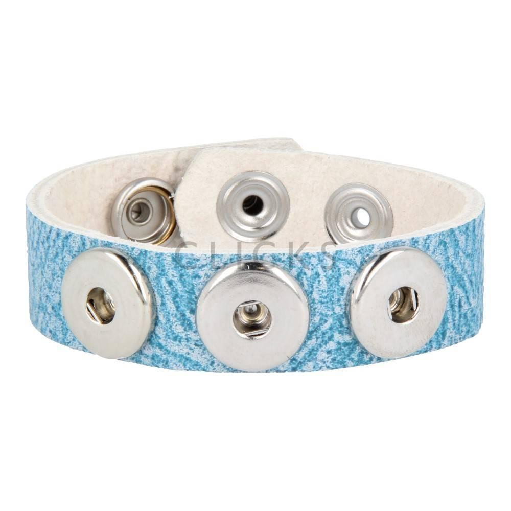 Clicks Armband Clicks Douro Blau (1007M22)