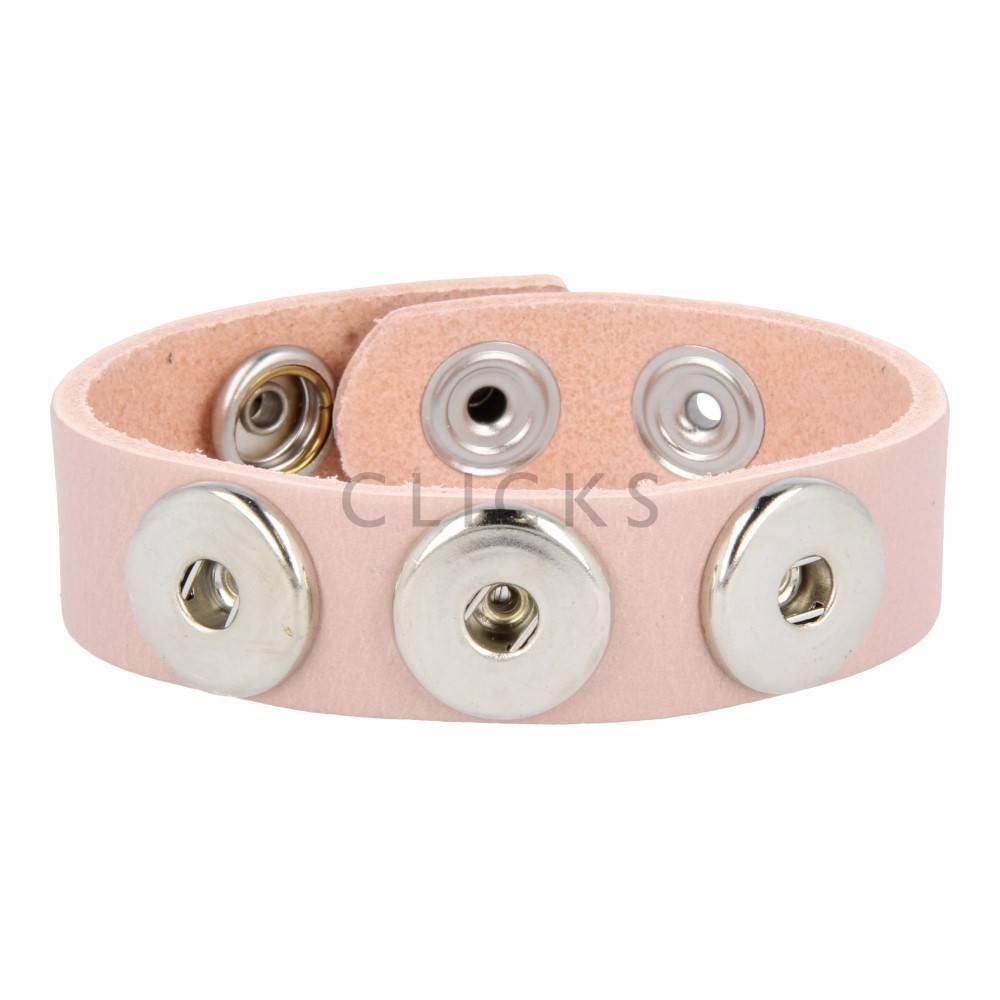 Clicks Armband Clicks 501 Lachsfarbe (1012M21)