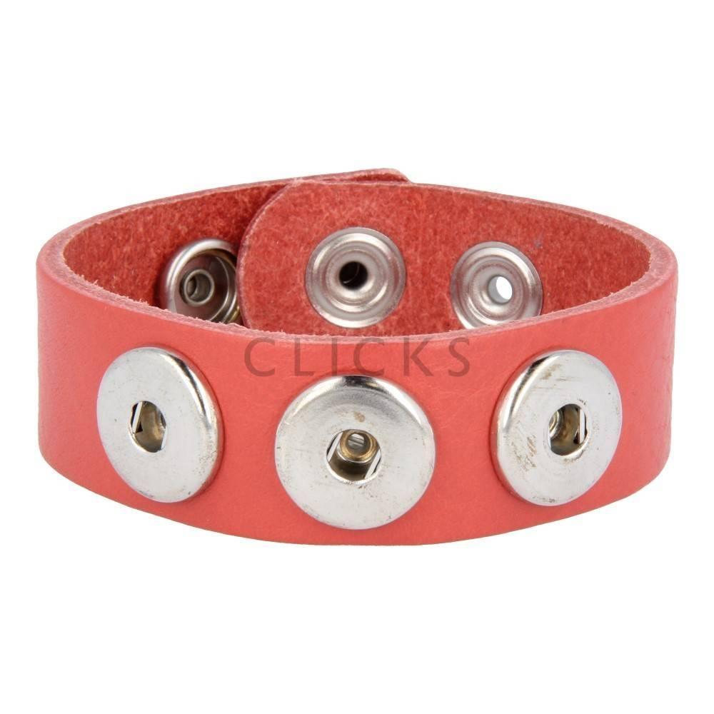 Clicks Armband Clicks 503 Korallenrot (1013L24)