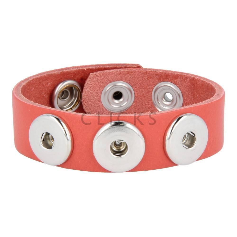 Clicks Armband Clicks 503 Korallenrot (1013M21)