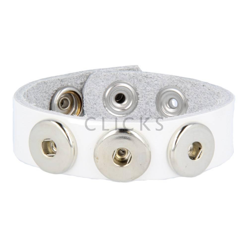 Clicks Armband Clicks Wolkenweiss (1017M24)