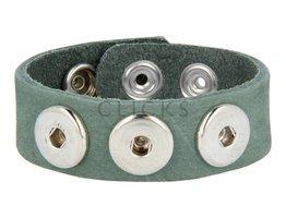 Clicks Armband Clicks 1122 Grün Nubuk