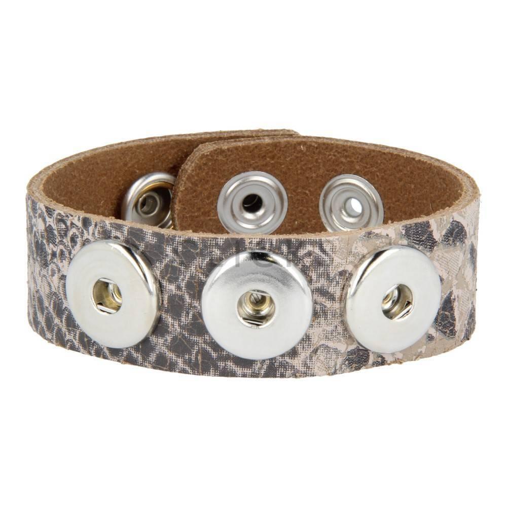 Armband clicks 1121slang taupe