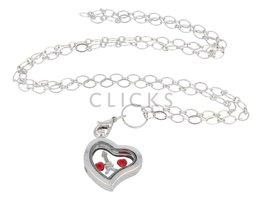 Sweet Memory Lockets Sweet Memory Locket im Herzform mit liebe Paris Charms (MLS1001)