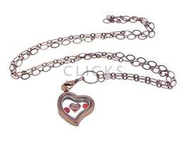 Sweet Memory Lockets Sweet Memory Locket im Herzform mit Freundschaft Charms (MLS1003)