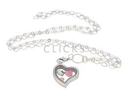 Sweet Memory Lockets Sweet Memory Locket im Herzform mit Hello Kitty Charms (MLS1008)