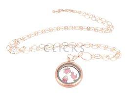 Sweet Memory Lockets Sweet Memory Locket im Kreisform mit Cupcake Charms (MLS1019)