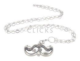 Sweet Memory Lockets Sweet Memory Locket Movember mit Strasssteine Charms (MLS1031)