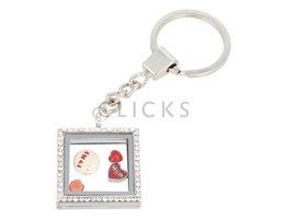 Sweet Memory Lockets Sweet Memory Locket Platz Schlüsselanhänger mit liebe Mutter Charms (MLS1033)