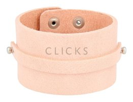 Spinto Spinto - SB1003 - Leder Armband - Pastellrosa