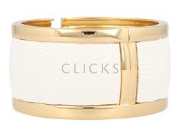 Safari Safari - SI1007 - Clip Armband - Gold - Weiß
