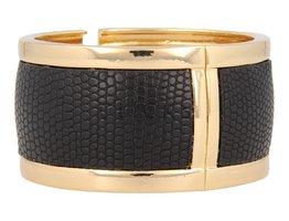 Safari Safari - SI1008 - Clip Armband - Gold - Schwarz