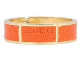 Safari Safari - SI1010 - Clip Armband - Gold - Orange