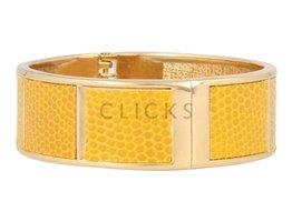 Safari Safari - SI1011 - Clip Armband - Gold - Gelb