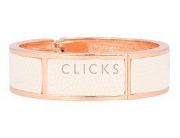 Safari Safari - SI1016 - Clip Armband - Rosé - Weiss