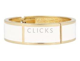 Lucenti Lucenti - LU1001 - Clip Armband - Gold - Weiß