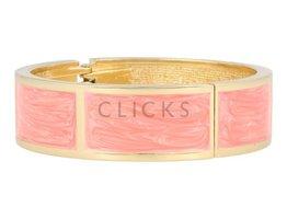 Lucenti Lucenti - LU1002 - Clip Armband - Gold - Pink
