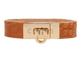 Gesparmbanden My Bendel - MB4000 - Gesp armband - Goud - Cognac