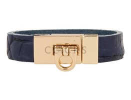 Gesparmbanden My Bendel - MB4003 - Gesp armband - Goud - Blauw