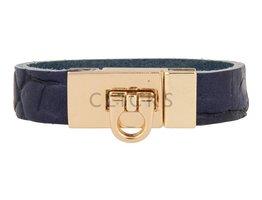 Gesparmbanden My Bendel - MB4003 - Schnalle Armband - Gold - Blau