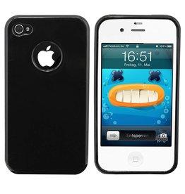 iHoez.nl iPhone 4 / 4s hoesje zwart
