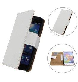 iHoez.nl Samsung S5 hoesje Wit Boek Classic