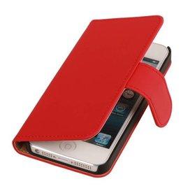 iHoez.nl iPhone 4 / 4s hoesje boek Rood