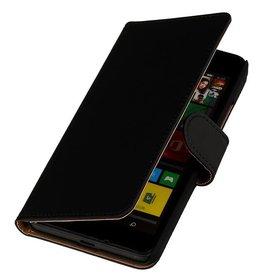 iHoez.nl Lumia 640 XL hoesje Boek Classic Zwart