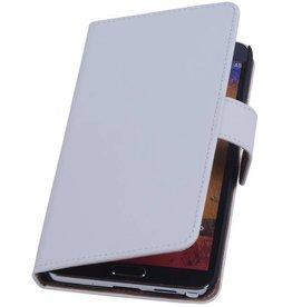 iHoez.nl Samsung Note 3 hoesje Wit Boek Classic