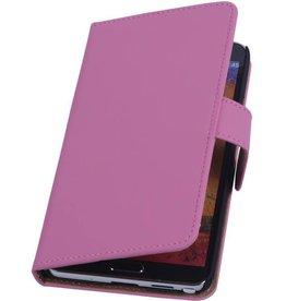 iHoez.nl Samsung Note 3 hoesje Roze Boek Classic