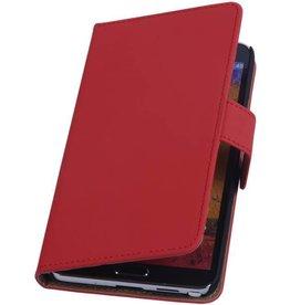 iHoez.nl Samsung Note 3 hoesje Rood Boek Classic