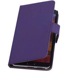 iHoez.nl Samsung Note 3 hoesje Paars Boek Classic