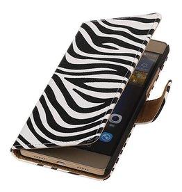 iHoez.nl Huawei P8 Lite hoesje Zebra