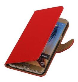 iHoez.nl Samsung S6 Edge Plus hoesje Rood