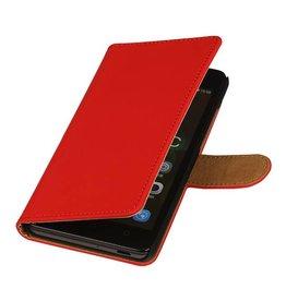 iHoez.nl Huawei Ascend Y540 hoesje Boek Classic Rood