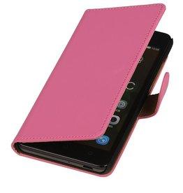 iHoez.nl Huawei Ascend Y540 hoesje Boek Classic Roze