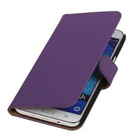 iHoez.nl Samsung Galaxy J5 hoesje Boek Classic Paars