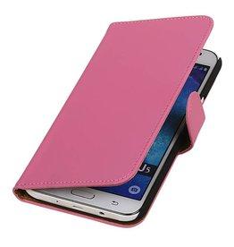 iHoez.nl Samsung Galaxy J5 hoesje Boek Classic Roze