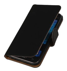 iHoez.nl Samsung Galaxy Xcover 3 G388F Boek Classic Zwart