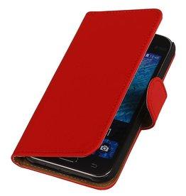 iHoez.nl Samsung Galaxy Xcover 3 G388F Boek Classic Rood