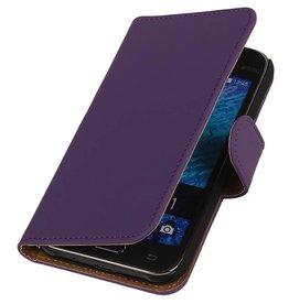 iHoez.nl Samsung Galaxy Xcover 3 G388F Boek Classic Paars