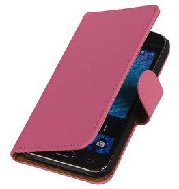 iHoez.nl Samsung Galaxy Xcover 3 G388F Boek Classic Roze