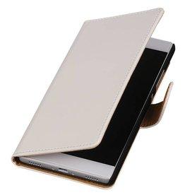 iHoez.nl Huawei Ascend Y625 hoesje Boek Classic Wit