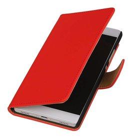 iHoez.nl Huawei Ascend Y625 hoesje Boek Classic Rood