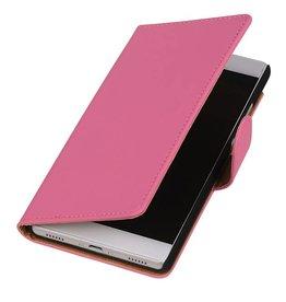 iHoez.nl Huawei Ascend Y625 hoesje Boek Classic Roze