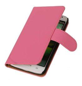 iHoez.nl Huawei Ascend Y330 hoesje Classic Wallet Roze