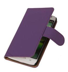 iHoez.nl Huawei Ascend Y330 hoesje Classic Wallet Paars
