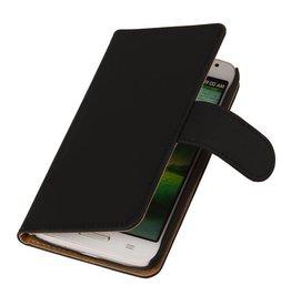 iHoez.nl Huawei Ascend Y330 hoesje Classic Wallet Zwart