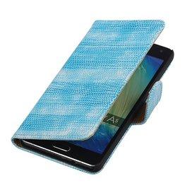 iHoez.nl Lizard Samsung Galaxy A5 Boekhoesje Turquoise